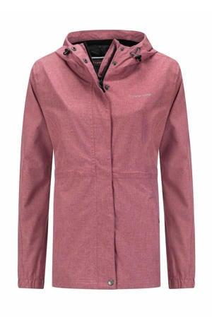 outdoor jas Buxton roze