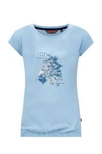 Life-Line outdoor T-shirt Nena lichtblauw, Lichtblauw