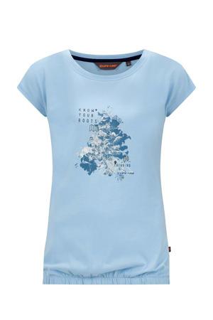 outdoor T-shirt Nena lichtblauw