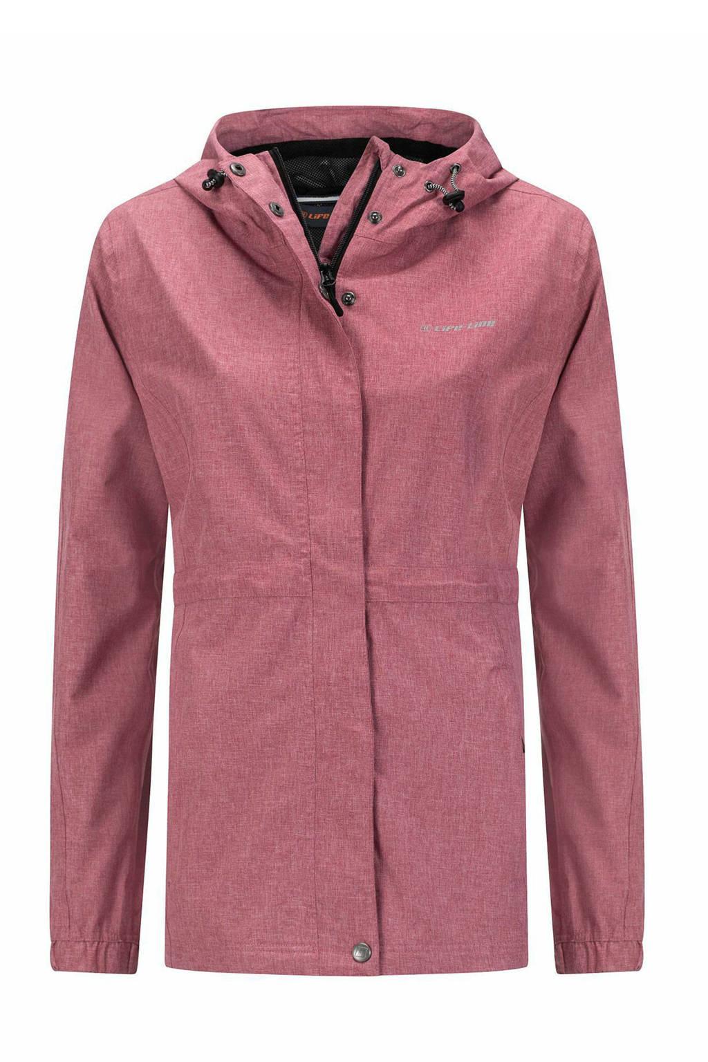 Life-Line outdoor jas Buxton roze, Dark-Pink