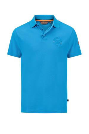 outdoor polo Noah blauw