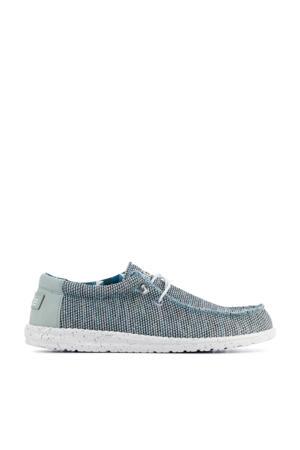Wally Sox  bootschoenen grijsblauw