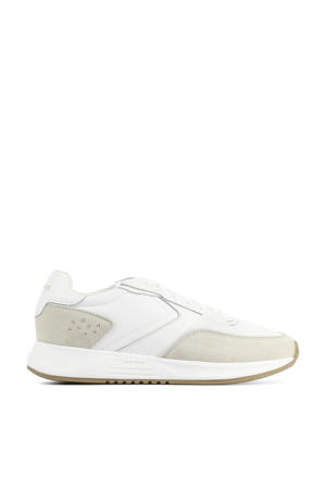 Nolita  leren sneakers wit/beige