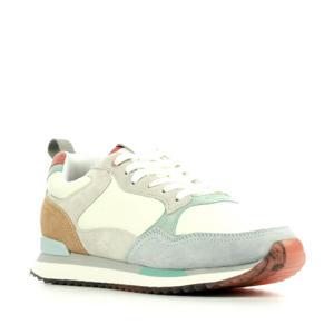 Rome  suède sneakers ecru/multi