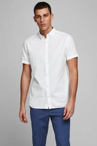 JACK & JONES ESSENTIALS regular fit overhemd wit, Wit