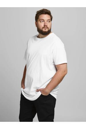 basic T-shirt Plus Size wit