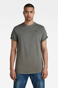 G-Star RAW T-shirt Lash van biologisch katoen grijs, Grijs