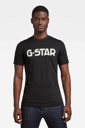 T-shirt van biologisch katoen zwart