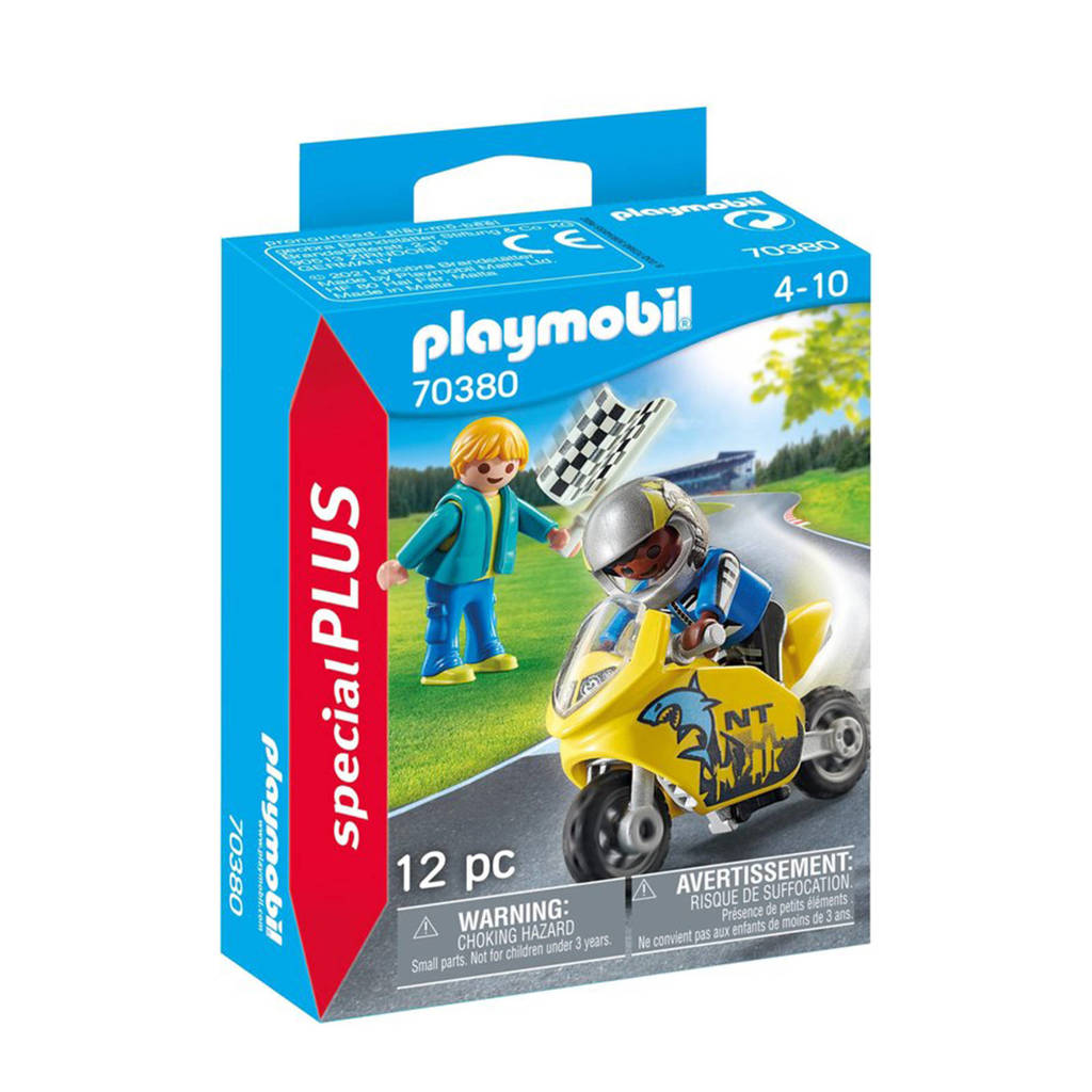 Playmobil Special Plus  Jongens met motor 70380