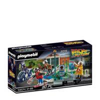 Playmobil Back to the Future  deel II Hoverboard achtervolging 70634, Multi kleuren