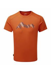 Sprayway outdoor T-shirt Slice oranje, Oranje