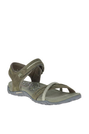Terran Cross II outdoor sandalen olijfgroen