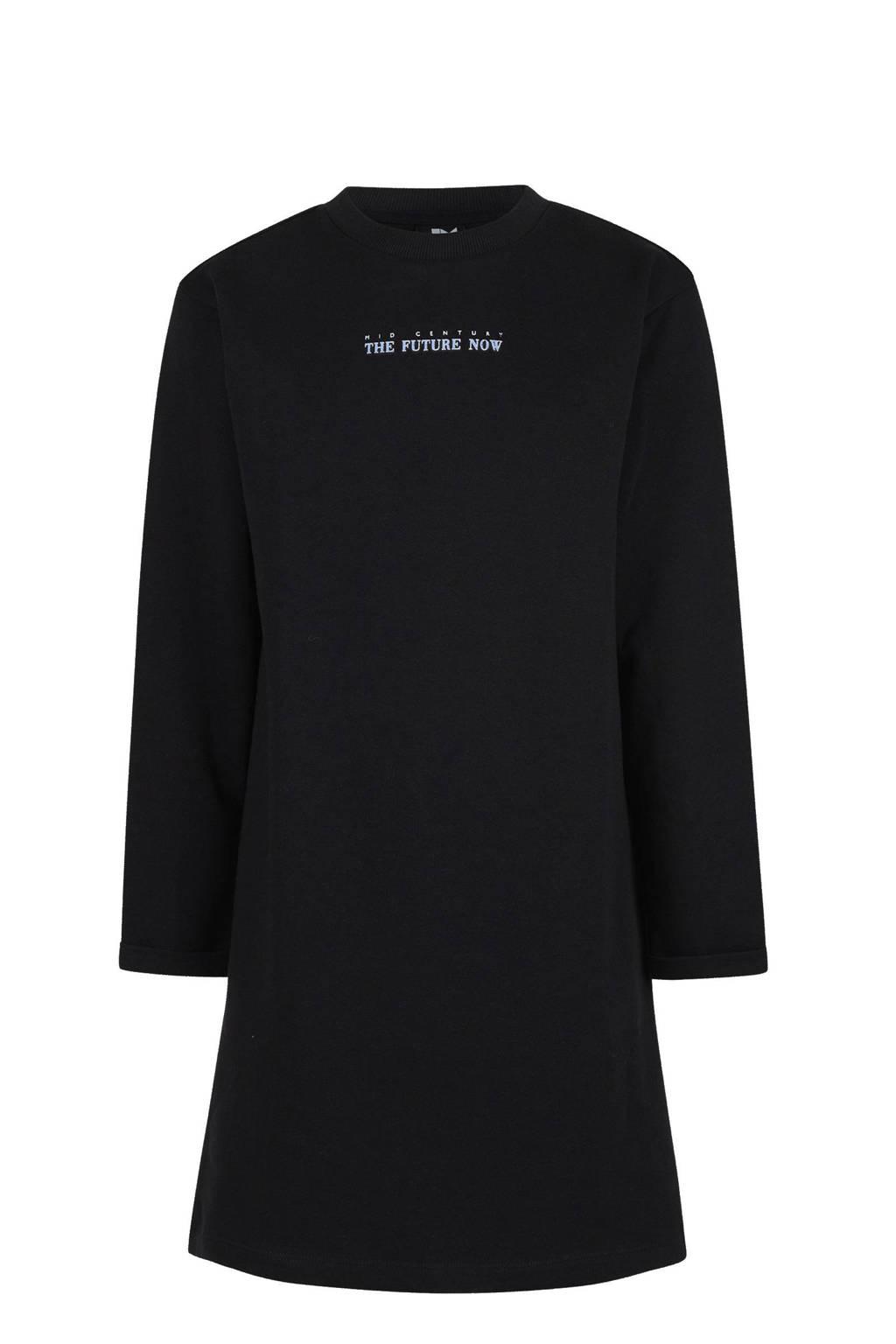 Shoeby Jill & Mitch jurk Becca zwart, Zwart