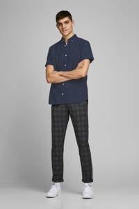JACK & JONES ESSENTIALS regular fit overhemd donkerblauw, Donkerblauw