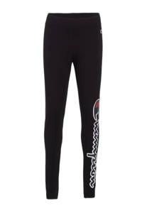 Champion legging met logo zwart, Zwart