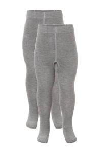 anytime maillot - set van 2 grijs melee, Grijs melee