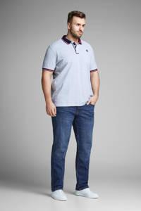 JACK & JONES PLUS SIZE slim fit jeans JJITIM JJORIGINAL Plus Size blue denim, Blue denim
