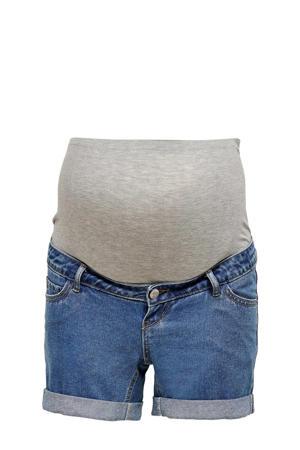 low waist regular fit jeans short Vega stonewashed