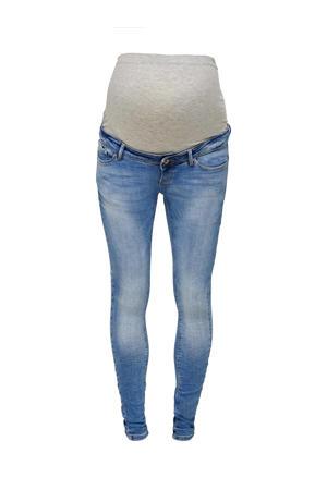 high waist skinny zwangerschapsjeans Paola light denim