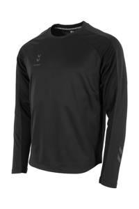hummel   sport T-shirt zwart, Zwart
