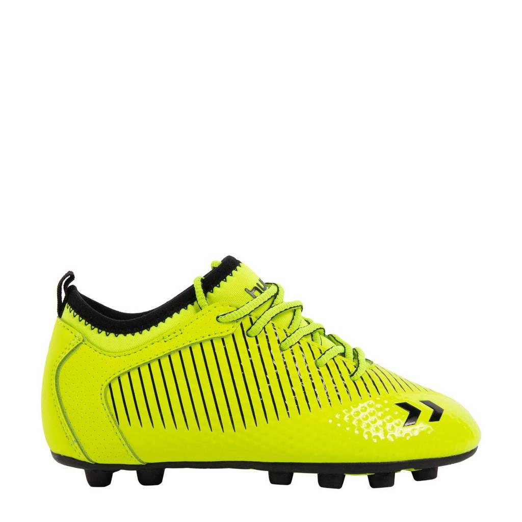 hummel Zoom FG Jr. voetbalschoenen neon geel/zwart, Neon geel/zwart