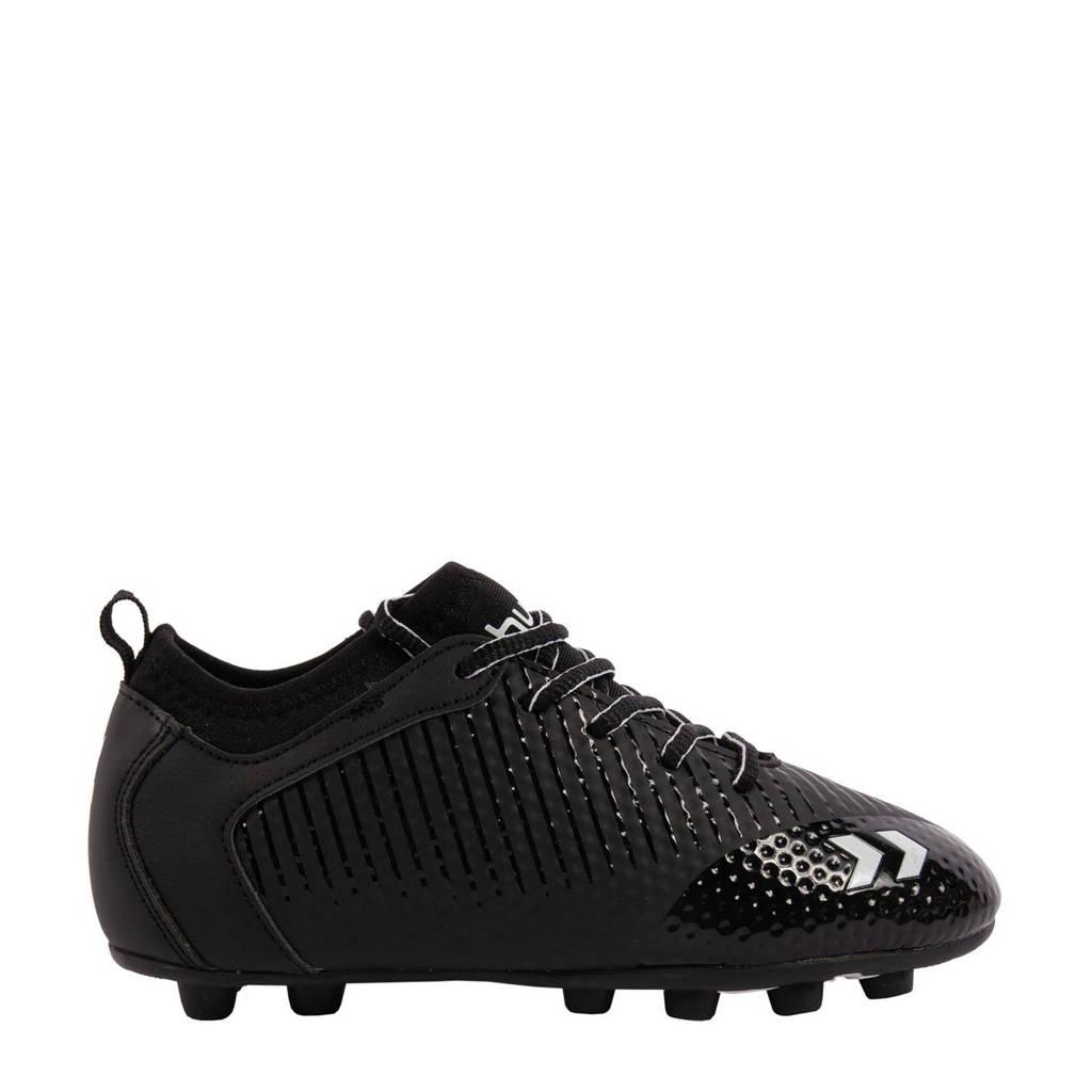 hummel  Zoom JR FG voetbalschoenen zwart, Zwart