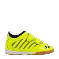hummel Zoom JR IN  sportschoenen neon geel/zwart, Neon geel/zwart
