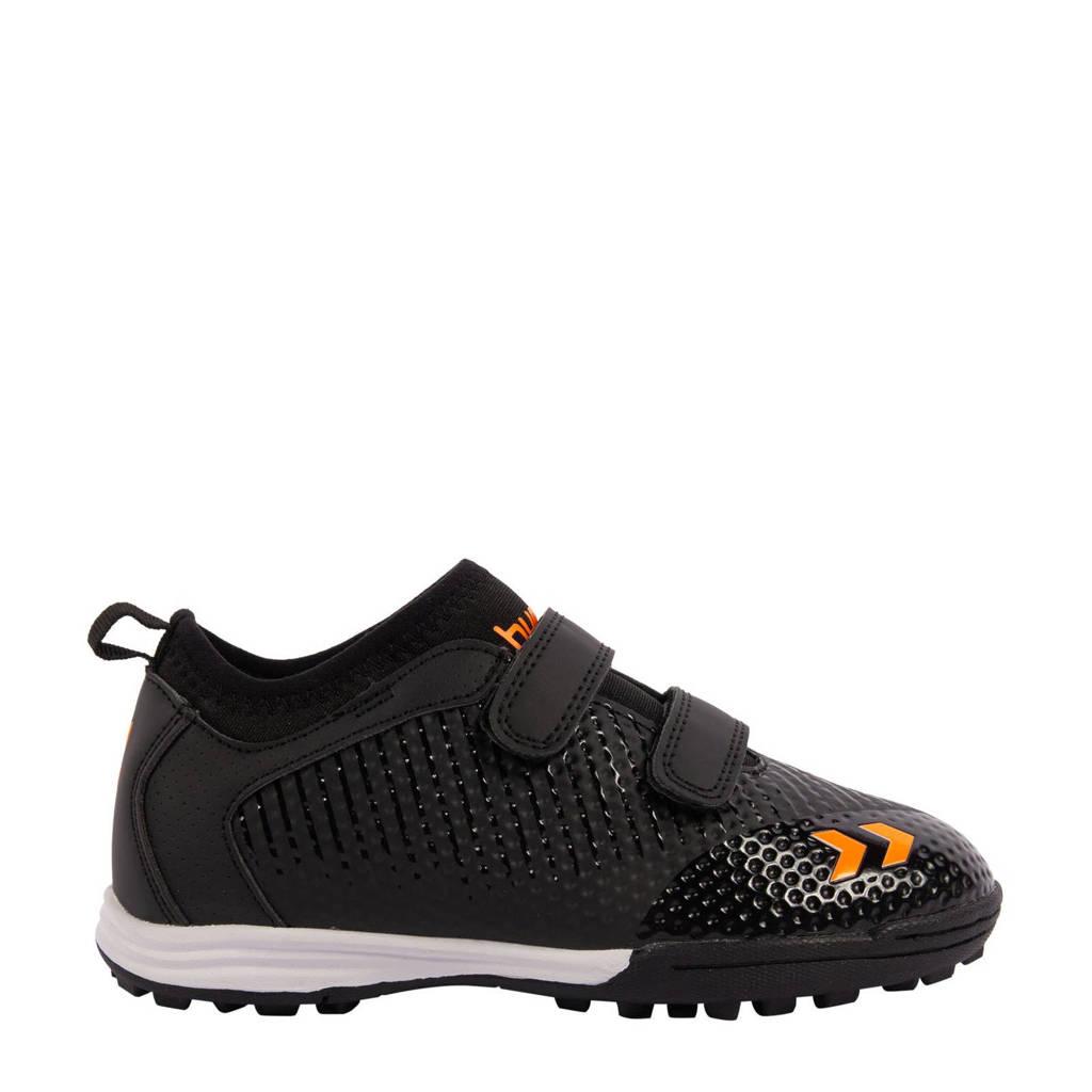 hummel Zoom TF voetbalschoenen zwart/oranje, Zwart/oranje