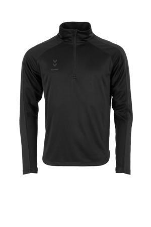 Senior  sportshirt Ground Pro Quarter zwart
