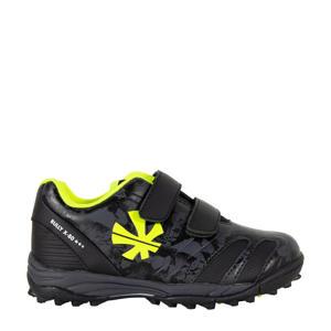 Bully X80  hockeyschoenen zwart/geel kids