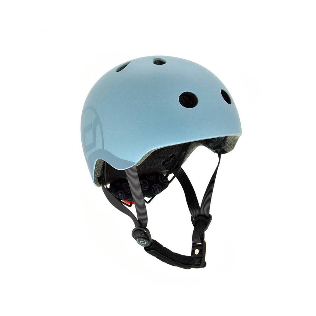 Scoot & Ride helm S - Steel
