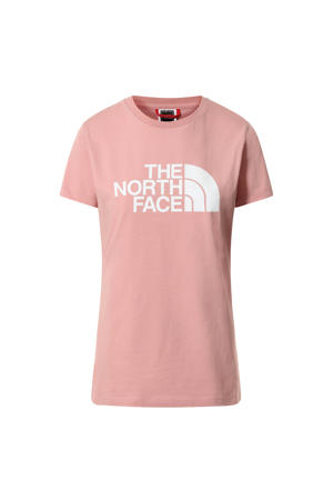 T-shirt Easy roze/wit
