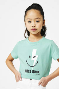CoolCat Junior T-shirt Elodie coolcat x smiley world turquoise, Turquoise