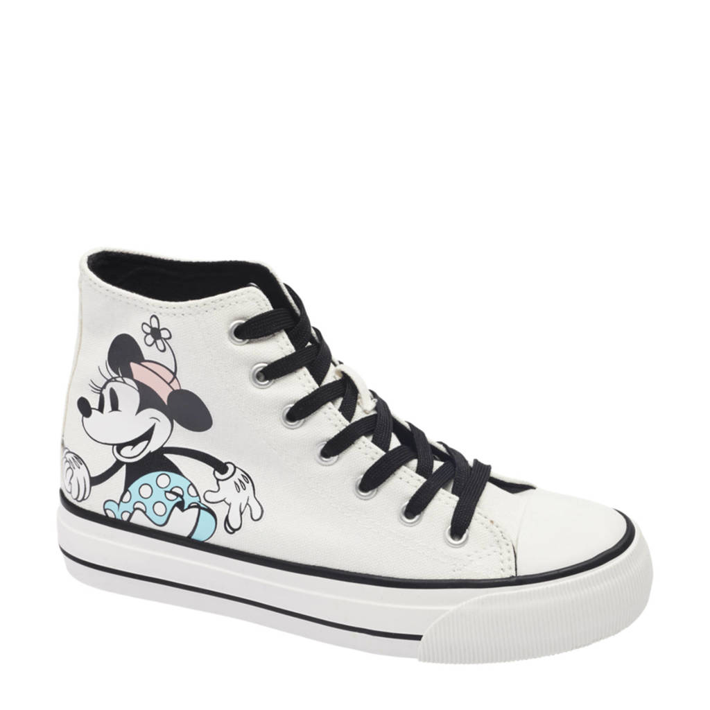 Worlds Apart Mickey Mouse   sneakers wit/zwart/blauw, Wit