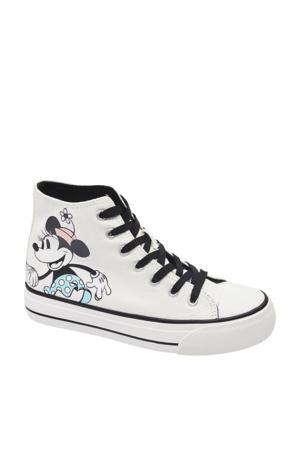 sneakers wit/zwart/blauw