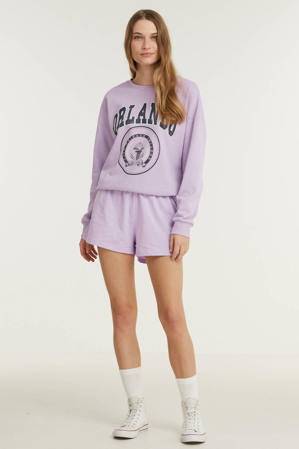 ONLY short ONLLEISURE lila, Lila