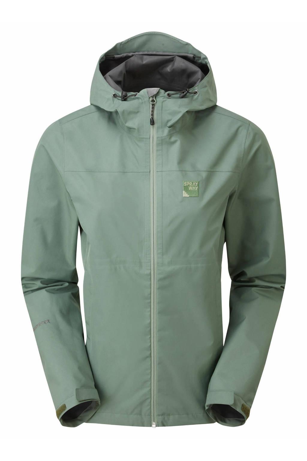 Sprayway outdoor jas Kelo groen, Groen