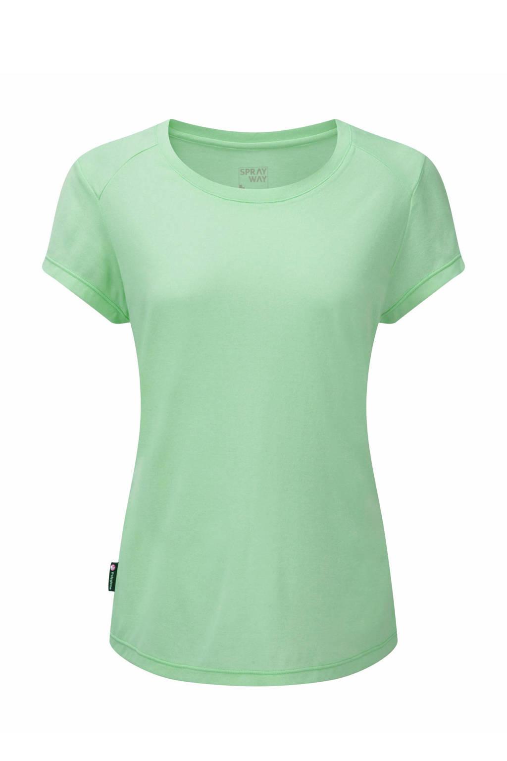 Sprayway outdoor T-shirt Cluaran mintgroen, Mintgroen