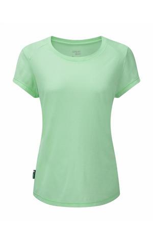 outdoor T-shirt Cluaran mintgroen