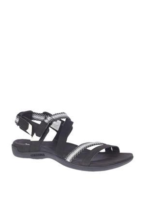 District Mendi  sandalen zwart/wit/grijs