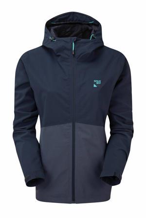 outdoor jas Kyrre donkerblauw/blauw