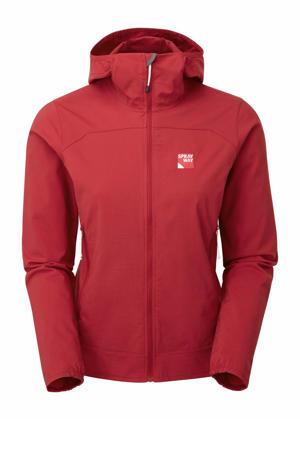 outdoor softshell jas Anax rood