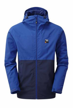 outdoor jas Hergen blauw/donkerblauw