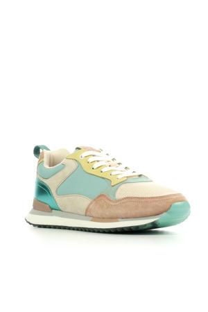 Singapore  suède sneakers multicolor