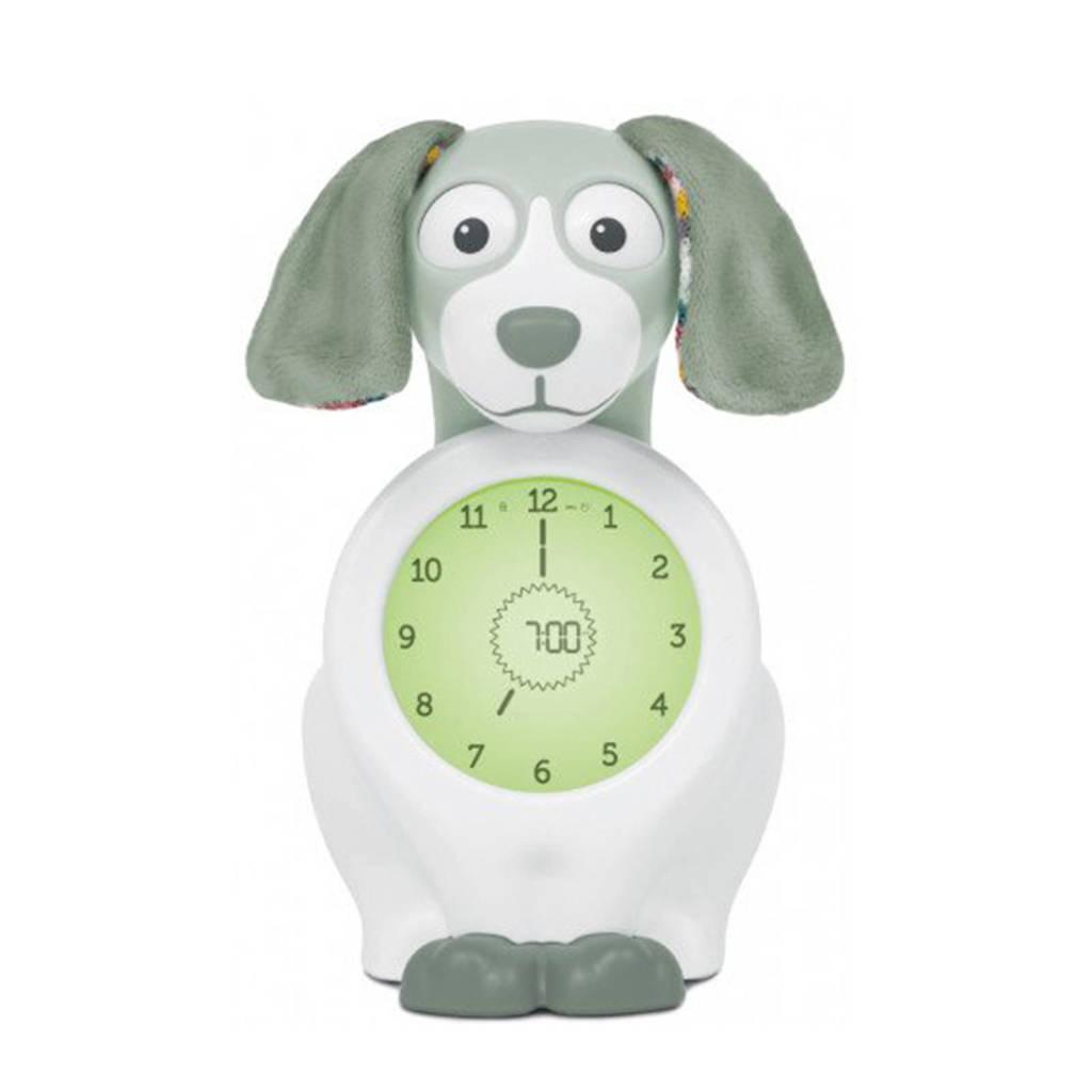 Zazu Davy de hond slaaptrainer met uurwerk groen