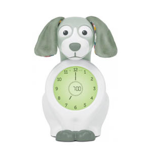 Davy de hond slaaptrainer met uurwerk groen