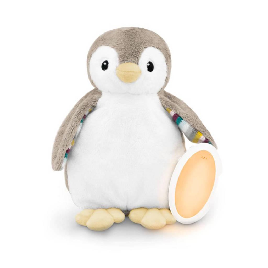 Zazu Phoebe de pinguin babyslaapknuffel met opname functie, Wit