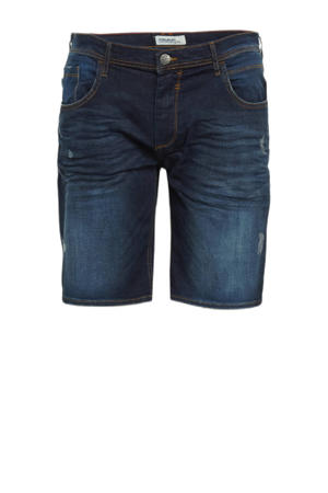 regular fit jeans short Plus Size 200292 denim dark blue