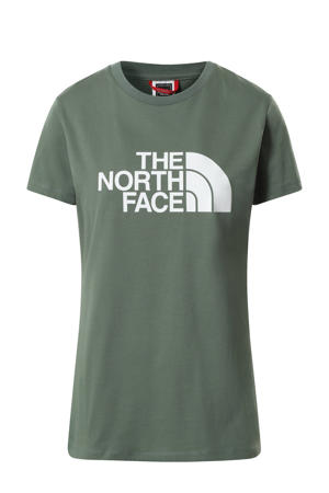 T-shirt Easy groen/wit