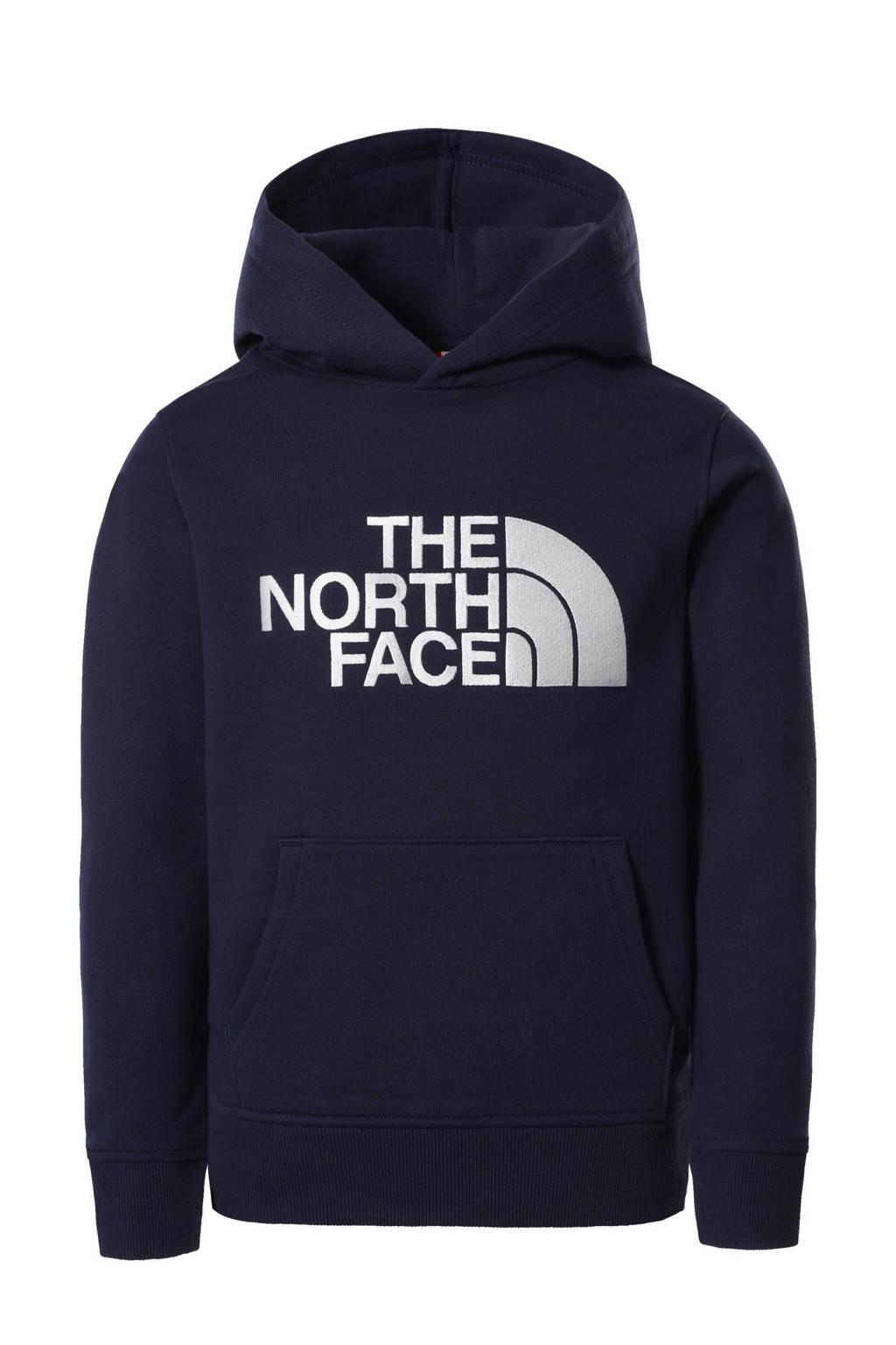 The North Face hoodie Drew Peak met logo donkerblaluw, Donkerblaluw